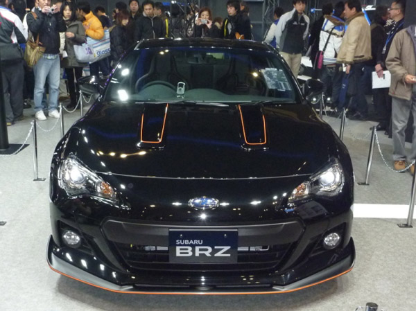 Subaru BRZ Black Edition от ателье Prova