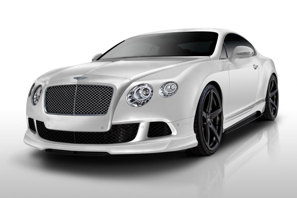 Vorsteiner показал пакет BR-10 для Bentley Continental
